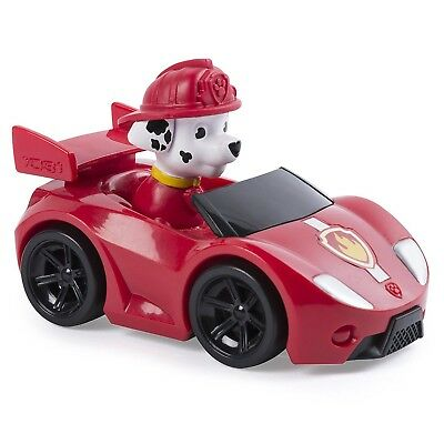 MARSHALL Racer ROADSTER CAR VEHICLE 10cm PAW PATROL VEHICLE Spin Master RACERS