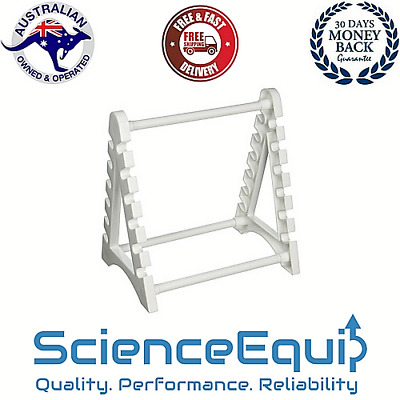 Pipette Stand, Holds upto 12 Pipettes Horizontally, Polypropylene