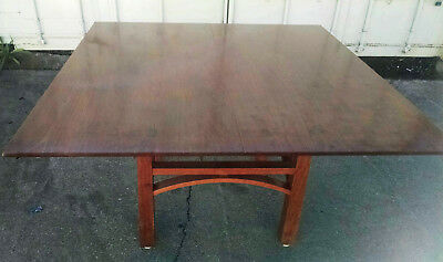 Thomas Moser Square Solid Cherry Wood Bungalow Table