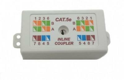 Inline Coupler Cat5e Cable Joiner