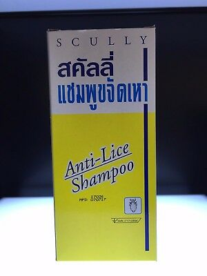 Scully Anti Lice Shampoo Kill Louse Egg Lice for Child - Adult 200 ml