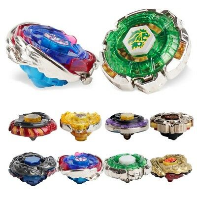 Beyblade Metal Masters LOT Fusion Fury+String Bey Launcher Gyro Toys Kids Gifts