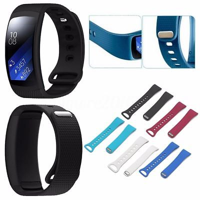 Silicone Luxury Replacement Watch Band Straps For Samsung Gear Fit 2 & Fit2 Pro