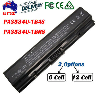 12Cell Battery For Toshiba Satellite PA3534U-1BAS PA3534U-1BRS L300 A200 Lot