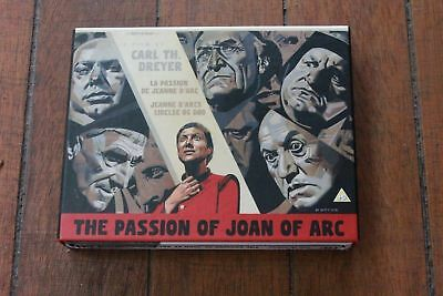 The Passion of Joan of Arc Masters of Cinema Steelbook Rare & Out of Print OOP