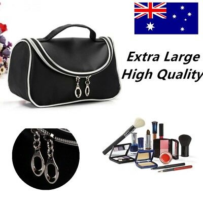 Hot Mac New Make Up Bag With Brush Compartments Genuine Great Gift Make Up Cases