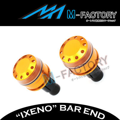 Fit Yamaha YP 250 / 400 Majesty All Year Billet IXENO Gold Bar Ends