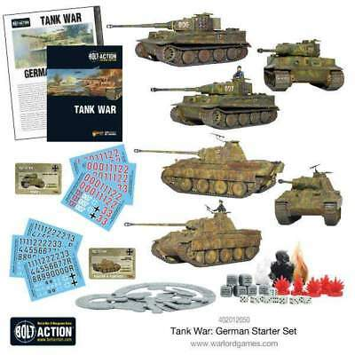 Warlord Games - Bolt Action - Tank War German Starter Set