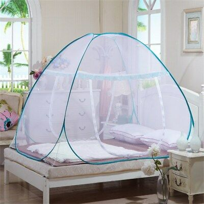 Portable Mosquito Net Automatic Canopy Insect Folding Bed Netting Camping Tent