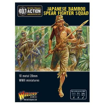 Warlord Games - Bolt Action - Japanese Bamboo Spear Fighter Squad