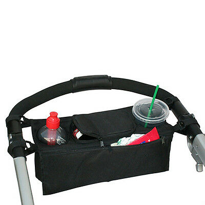 Eg_ Baby Stroller Organizer Cup Bags Carriage Pram Buggy Cart Bottle Holder Uniq