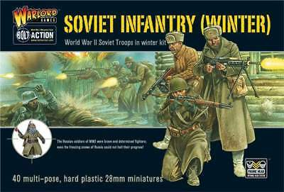 Warlord Games - Bolt Action - Soviet Winter Infantry (40)