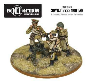 Warlord Games - Bolt Action - Soviet 82mm Mortar Team