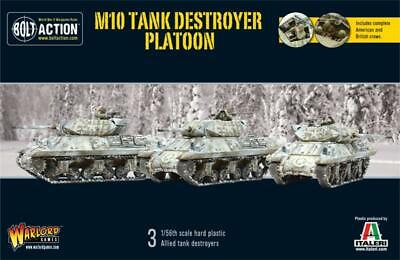 Warlord Games - Bolt Action - US M10 Tank Destroyer Platoon (3)