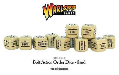 Warlord Games - Bolt Action - Würfel - Sand (12)