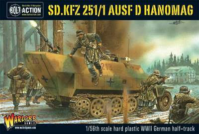 Warlord Games - Bolt Action - Sd.Kfz 251/1 ausf D halftrack plastic box set
