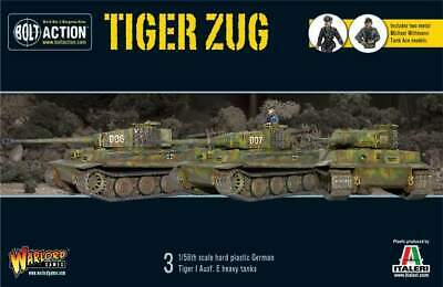 Warlord Games - Bolt Action - German Tiger Zug (3 Stück)