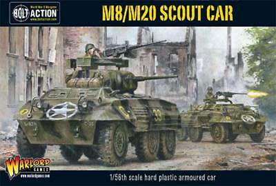 Warlord Games - Bolt Action - M8/M20 Greyhound Scout Car (Plastic Box)