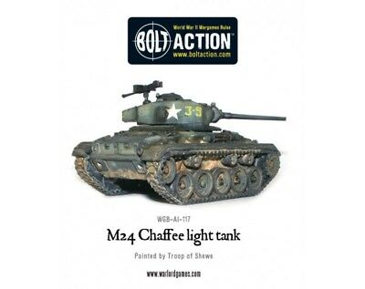 Warlord Games - Bolt Action - M24 Chaffee US Light Tank