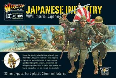 Warlord Games - Bolt Action - Imperial Japanese infantry plastic boxed set (30)