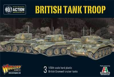 Warlord Games - Bolt Action - British Tank Troop (3 Cromwells)