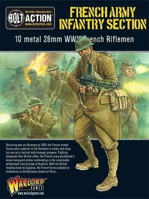 Warlord Games - Bolt Action - French Army: Infantry Section (10)