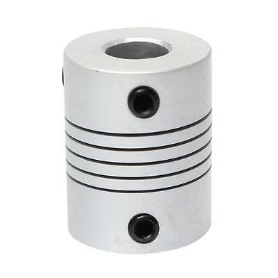 Lovoski 3D Printer Shaft Coupling Stepper Motor Coupler Connector 5x5x25mm