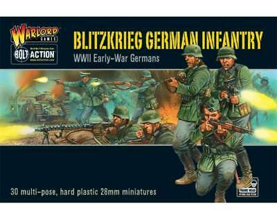 Warlord Games - Bolt Action - Blitzkrieg German Infantry plastic boxed set (30)