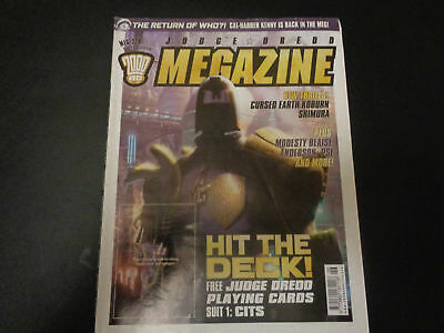 Judge Dredd Megazine no 228 comic (LOT#1692)
