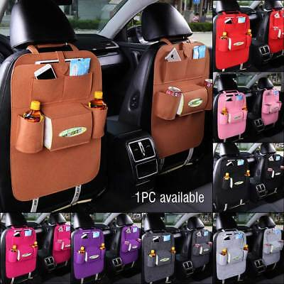 Auto Car Seat Back Multi-Pocket Storage Bag Organizer Holder Hanger Accessory