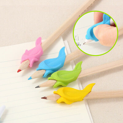 1Pc Dolphin Kid Student Pen Hold Writing Posture Correction Device Mirable hot