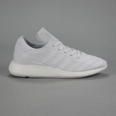 the best attitude f9024 7f5b4 Adidas Busenitz Pure Boost Skate Trainers Shoes in White UK Size 7,8,9