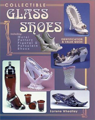 COLLECTIBLE GLASS SHOES INCLUDING METAL, POTTERY, FIGURAL By Earlene NEW
