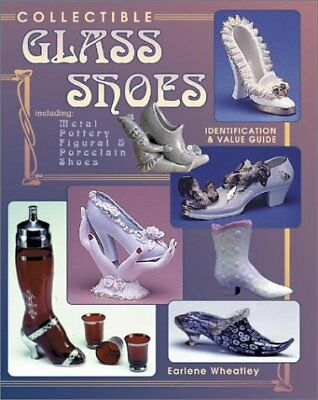 COLLECTIBLE GLASS SHOES INCLUDING METAL, POTTERY, FIGURAL By Earlene Mint