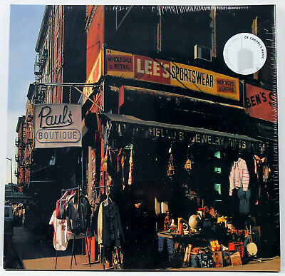 BEASTIE BOYS Paul's Boutique LP vinyl 20th anniv Capitol   NEW/SEALED