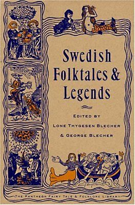 SWEDISH FOLKTALES AND LEGENDS By George Blecher **BRAND NEW**
