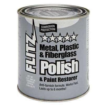 Flitz CA 03518-6 Metal, Plastic & Fiberglass Polish Paste - 2 lb. Quart Can