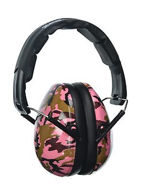 Baby Banz earBanZ Kids Hearing Protection Camo Pink 2 -10 YEARS by Baby Banz