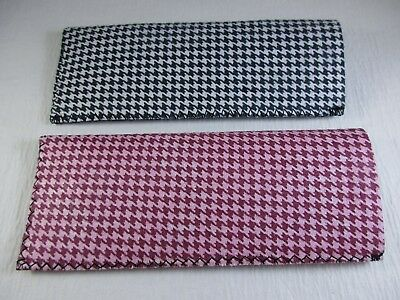 8f3324b01bf1 ~LOT of TWO~ Neoprene Soft Sided Slip-In Reading Eyeglass Cases Pouch A88