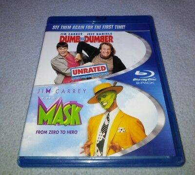 Dumb and Dumber / The Mask Double Feature Blu-ray
