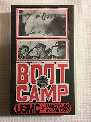 BOOT CAMP USMC Parris Island and San Diego VHS Copyright 1994