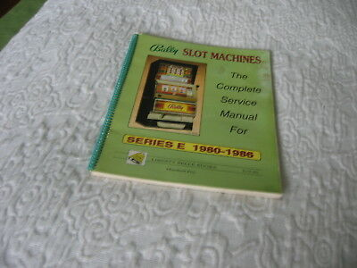 Bally Slot Machines Complete Service Manual For Series E 1980-1986/M. Fey