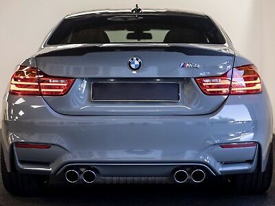 M4 Coupe BMW Carbon Fibre Spoiler to fit 2014 + BMW F82 M4 Trunk Boot Lid