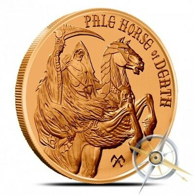 Pale Horse of Death 1 oz Copper Round FOUR HORSEMEN Series - FREE Shipping