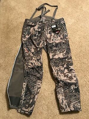 dbffcdb1a1610 NWT Sitka Mens Coldfront Bib Pants Gore-tex Optifade Open Country XL $549