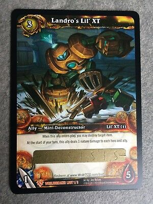 World of Warcraft WoW Loot - Landro's Lil' XT - Pet - Haustier - UNSCRATCHED