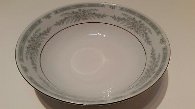 "Crown Ming Fine China Jian Shiang 9.25"" Serving Bowl Made In China"