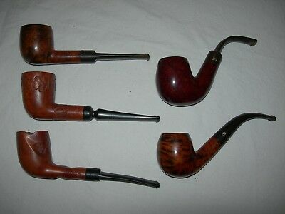 Collectible Wooden English Smoking Pipes / Smoking Tobacco