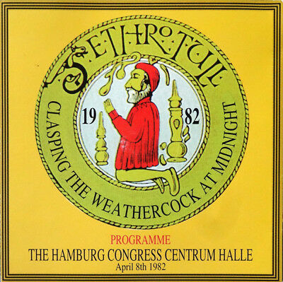 """Jethro Tull """"Clasping The Weathercock At Midnight""""  RARE OOP 2 CD Hamburg 1982"""