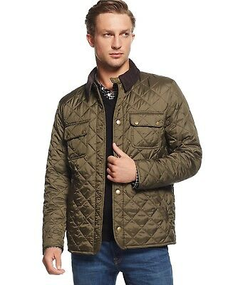 Barbour Tinford Quilted Jacket - Men - Medium Size